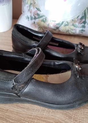 Туфлі, туфельки, туфли кожа, шкіра clarks