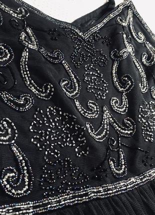 Выпускное платье вечернее чёрное платье4 фото
