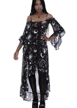 Макси платье killstar