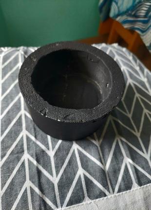 Горшок для вазона с бетона, горшочек, горщик2 фото