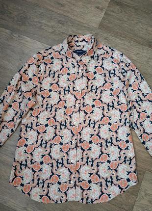 Женская блузка gant, немецкая рубашка гант.4 фото