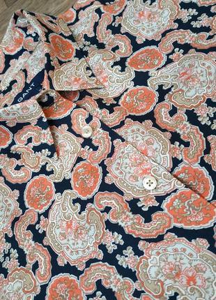 Женская блузка gant, немецкая рубашка гант.6 фото