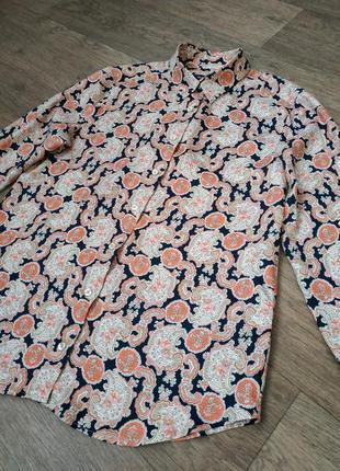 Женская блузка gant, немецкая рубашка гант.2 фото