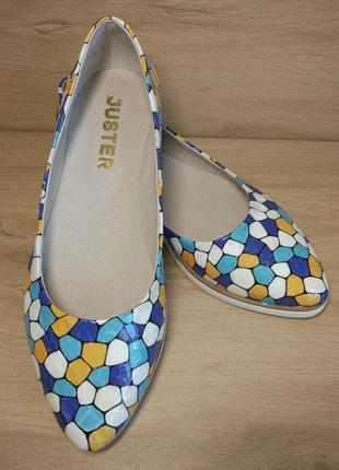 Распродажа! туфли балетки из натуральной кожи. р.36-405 фото