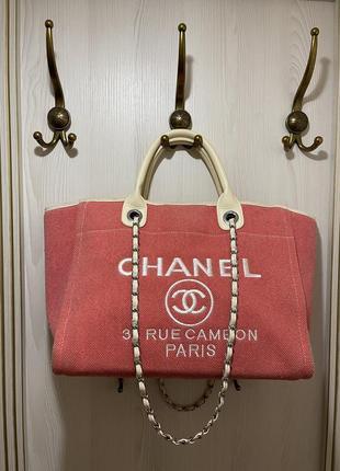 Lux сумка шоппер chanel