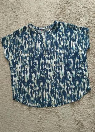 Синя блуза кофтинка street one р.40