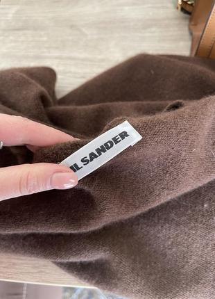 Шерстяная кофта, свитер, водолазка jil sander4 фото