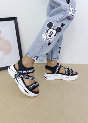 Молодежные босоножки, сандалии на платформе