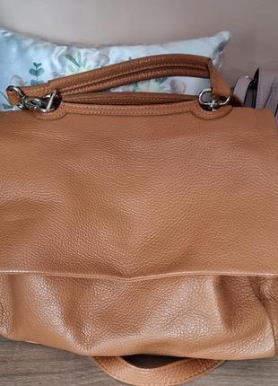 Терміново! сумка, сумочка шкіра, кожа borse in pelle,  італія2 фото
