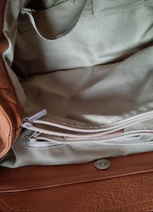 Терміново! сумка, сумочка шкіра, кожа borse in pelle,  італія5 фото