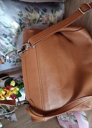 Терміново! сумка, сумочка шкіра, кожа borse in pelle,  італія3 фото