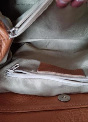 Терміново! сумка, сумочка шкіра, кожа borse in pelle,  італія6 фото