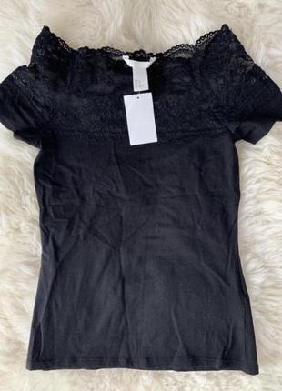 H&m нова футболка xs/s