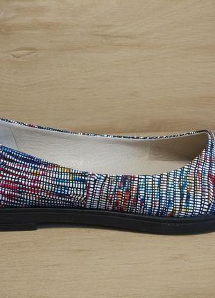 Распродажа! туфли балетки из натуральной кожи. р.36-41