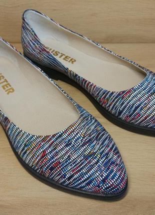 Распродажа! туфли балетки из натуральной кожи. р.36-413 фото