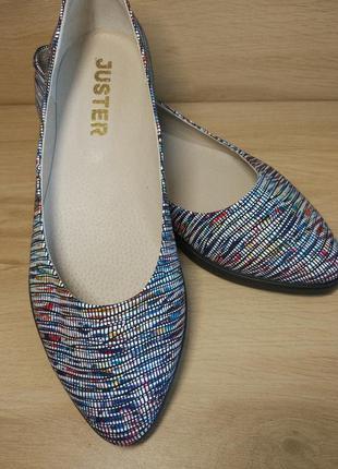 Распродажа! туфли балетки из натуральной кожи. р.36-414 фото