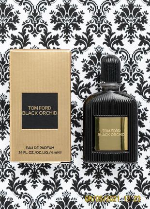 Парфюм tom ford black orchid edp духи - пробник 4 мл