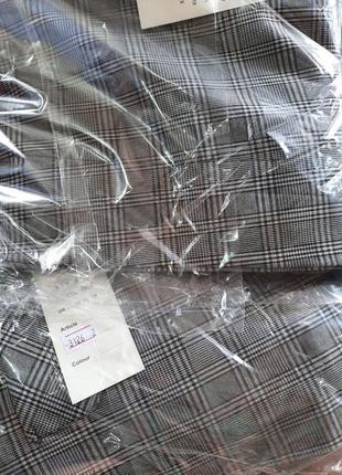Костюм брючный пиджак+брюки в клетку.шикарного качества6 фото