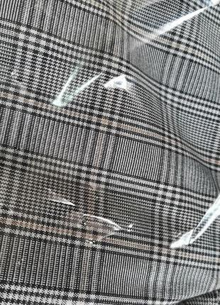 Костюм брючный пиджак+брюки в клетку.шикарного качества9 фото