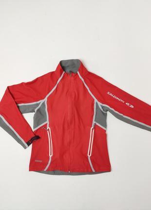 Легка безшовна куртка salomon windstoper