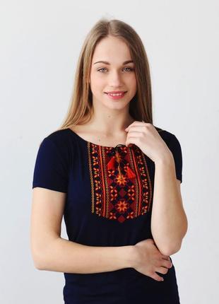 Вишиванка футболка жіноча, футболка женская вышиванка