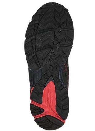 Кроссовки мужские беговые чёрный красный asics gel-kahana 8 original black red7 фото