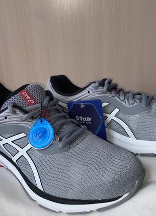 Кроссовки мужские серый белый asics gel-pulse 11 original grey5 фото