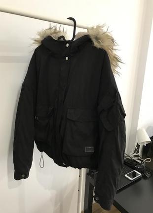 Оверсайз куртка bershka2 фото
