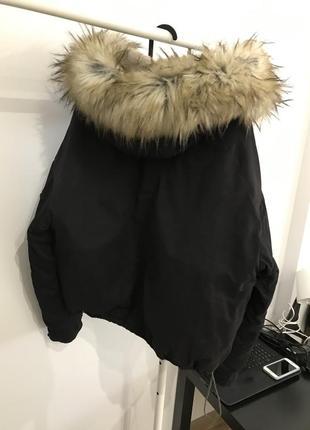 Оверсайз куртка bershka6 фото