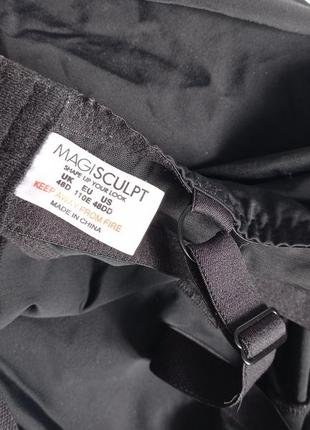 Коректирующий чёрный боди комбидрес с утяжкой утягивающее бельё батал баталити 110e4 фото