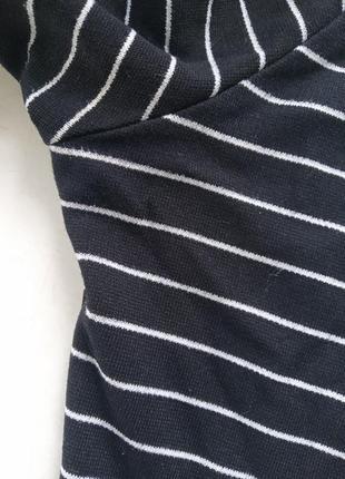 Платье в полоску zara р.s4 фото
