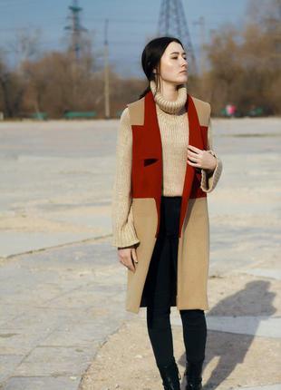 Пальто-жилет