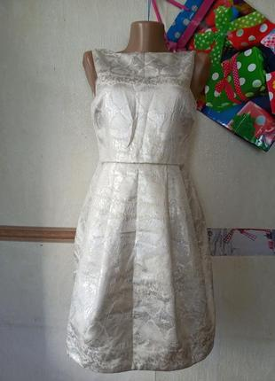 1+1=3 коктельное платье с полуоткрытой спинкой zara1 фото