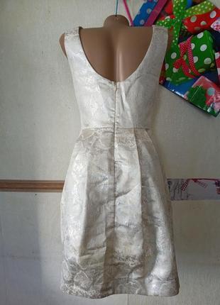 1+1=3 коктельное платье с полуоткрытой спинкой zara2 фото