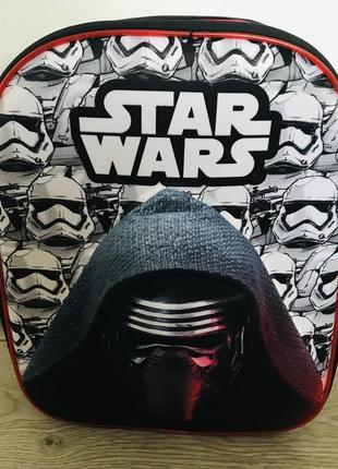 Дошкольный рюкзак 3д стар варс star wars 3-6 лет