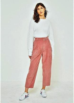 Шикарные свободные вельветовые брюки vero moda eur 40