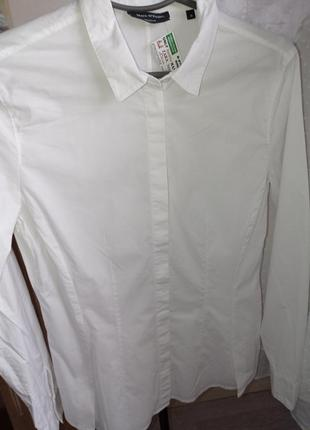 Рубашка белая marc o polo1 фото