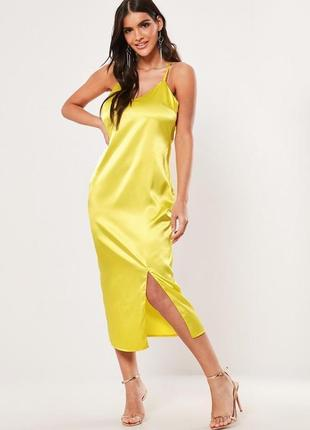 Стильна сатинова сукня нова