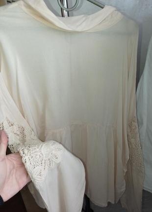 Блуза с вышивкой 48/50р3 фото