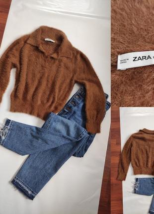 Трендовий светр поло від zara