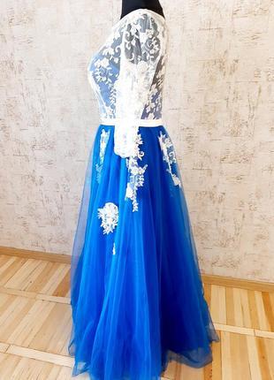 Неймовірна сукня для випускного вечора/ весілля / вечірня сукня/ платье4 фото