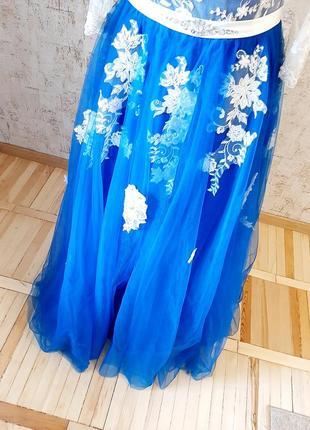 Неймовірна сукня для випускного вечора/ весілля / вечірня сукня/ платье6 фото