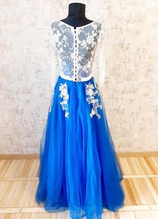 Неймовірна сукня для випускного вечора/ весілля / вечірня сукня/ платье3 фото