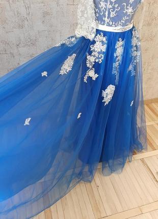 Неймовірна сукня для випускного вечора/ весілля / вечірня сукня/ платье2 фото