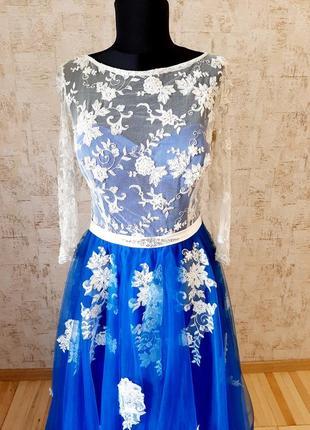 Неймовірна сукня для випускного вечора/ весілля / вечірня сукня/ платье7 фото