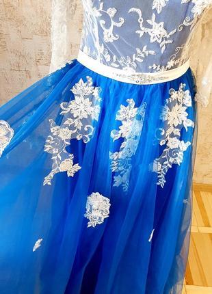 Неймовірна сукня для випускного вечора/ весілля / вечірня сукня/ платье5 фото