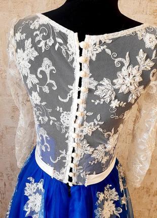 Неймовірна сукня для випускного вечора/ весілля / вечірня сукня/ платье8 фото