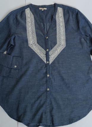 Блуза з вишивкою розмір xl