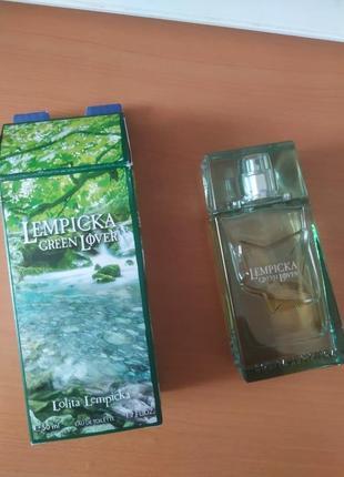 Туалетная вода lolita lempicka green lover 50 мл4 фото