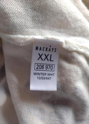 Легкий весенний джемпер с цветами m&co.6 фото
